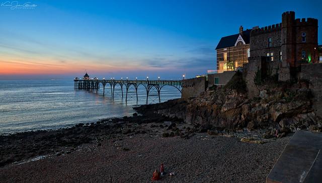 Clevedon, Twilight Pier