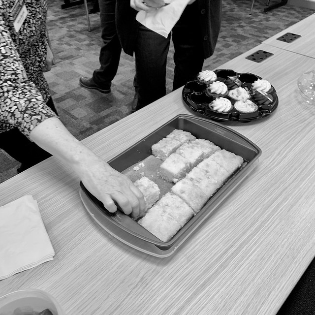 Cake at Toastmasters