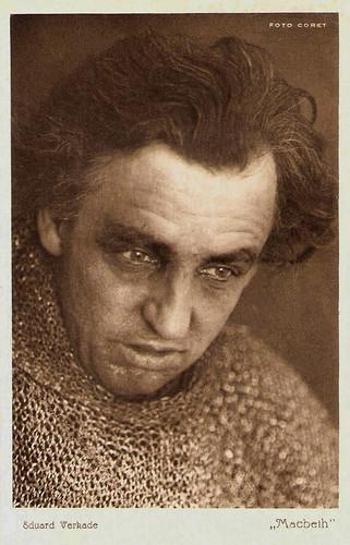 Eduard Verkade as MacBeth