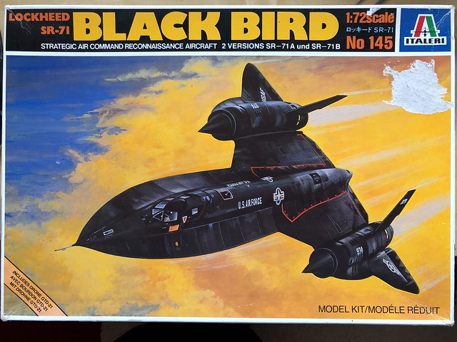 Blackbird SR-71 - Italeri 1/72 - Work in Progress - Aircraft