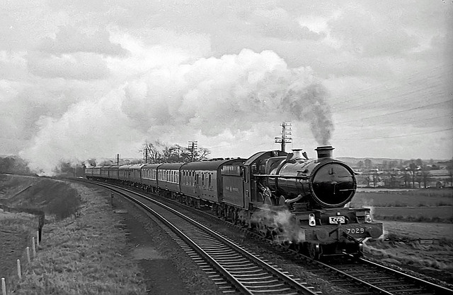 7029, Shifnal, Shropshire, February 1967