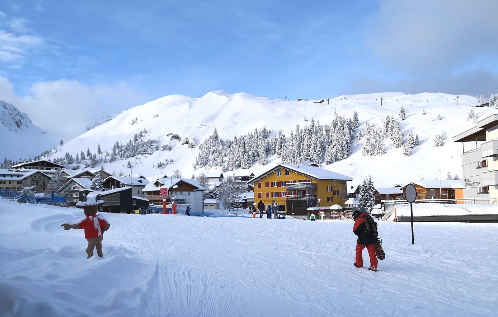 Ski village of Stoos