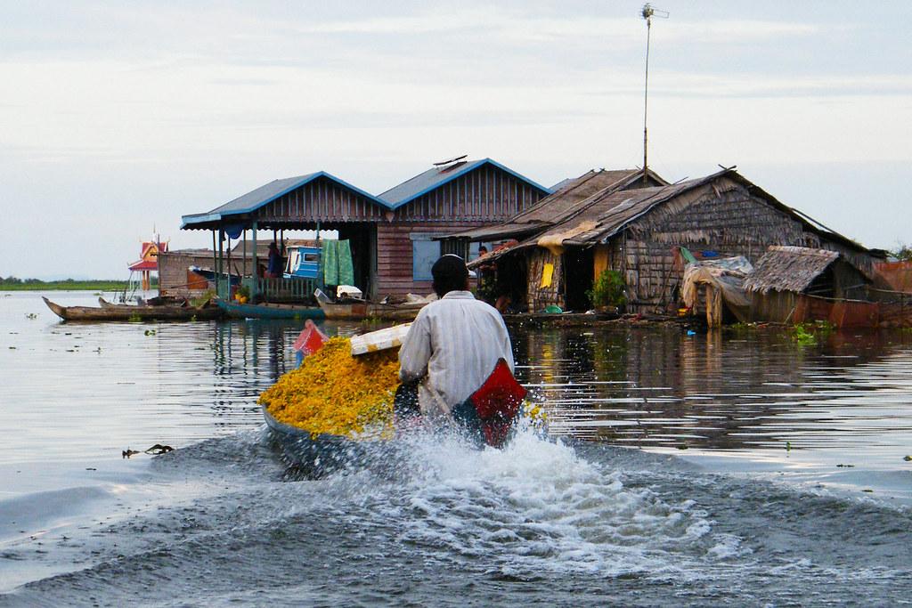 Floating village - Cambodia