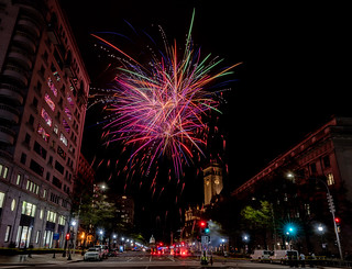 Emancipation Day fireworks | by vpickering