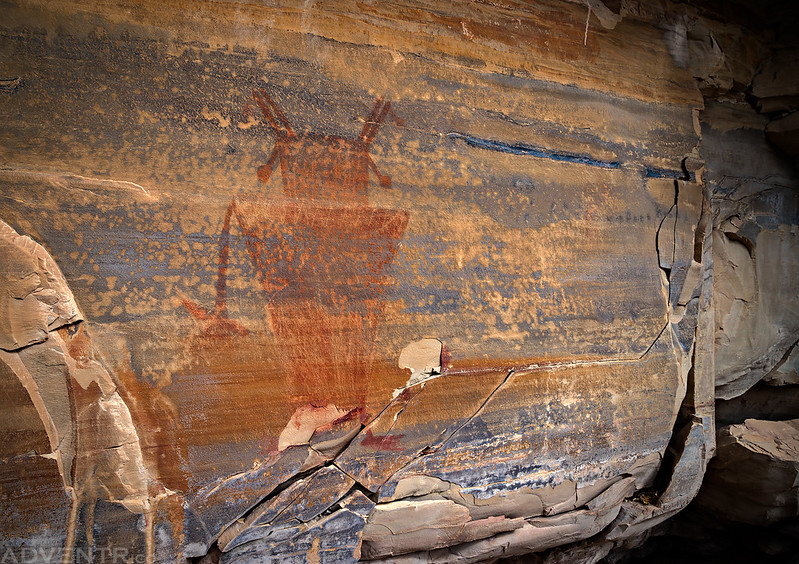 Big Red Fremont Pictograph