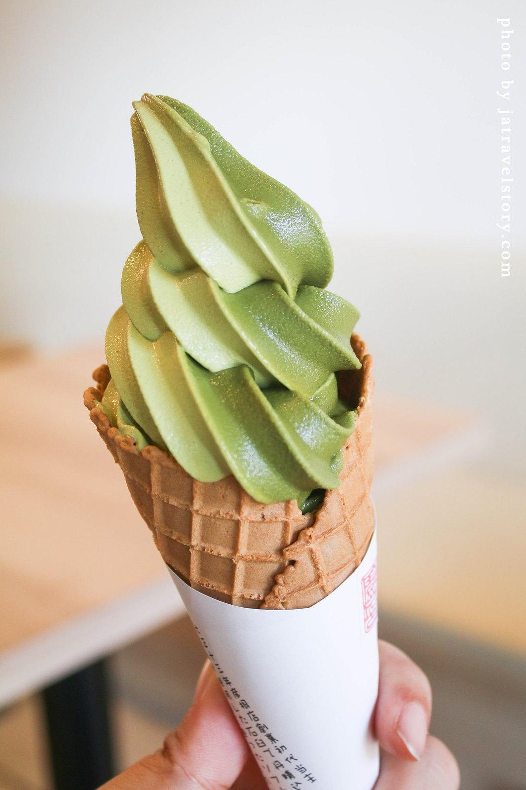 【滋賀美食/彥根城美食】政所園 源三郎抹茶霜淇淋 @J&A的旅行