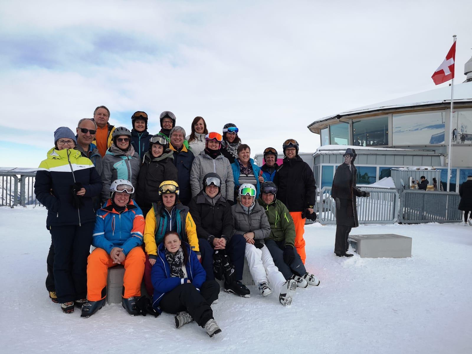 Skiweekend in Mürren (1.-3.02.2019)