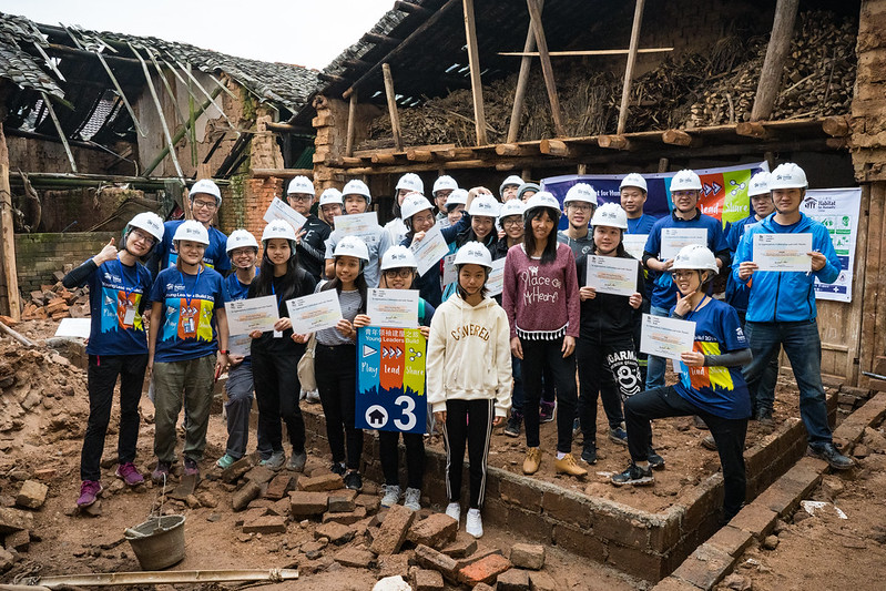 Habitat Young Leaders Build 2019