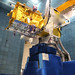 EUTELSAT QUANTUM in the compact antenna test range facility at Airbus Defence and Space (Toulouse, France)