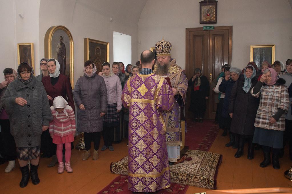 Служба в церкви Марии Египетской