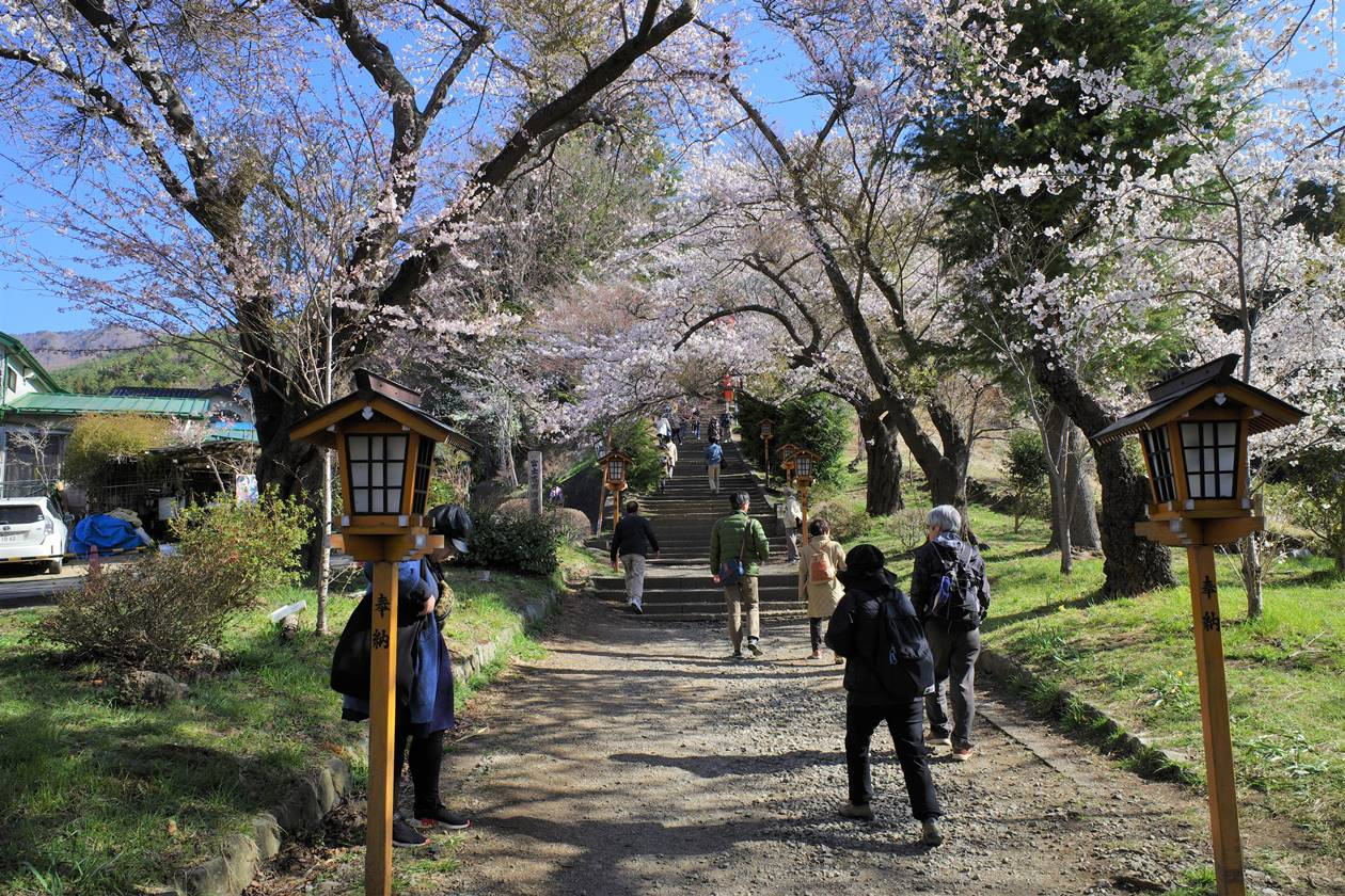 新倉山浅間公園入口