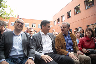 15.04.2019 Pedro Sánchez visita un centro de mayores en Leganés | by Partido Socialista