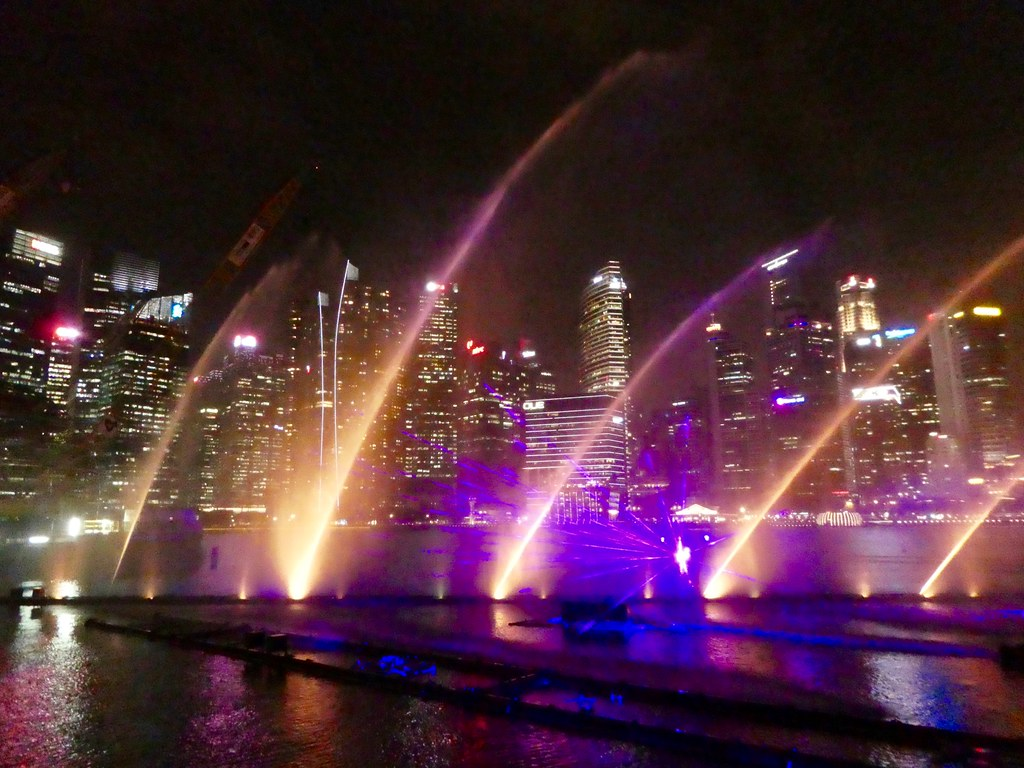 The Spectra Music and Light Show, Marina Bay, Singapore