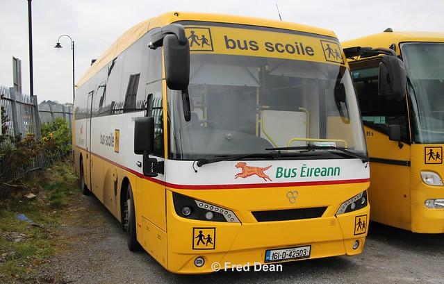 Bus Eireann TS7 (161D42503).