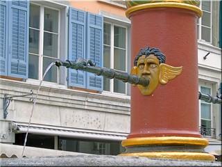 Solothurn/Schweiz - Brunnen in der Altstadt   by Jorbasa