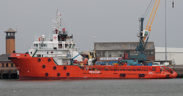 Offshore Support: OPAL (IMO 9489479 2009 1678gt) Port of Sunderland