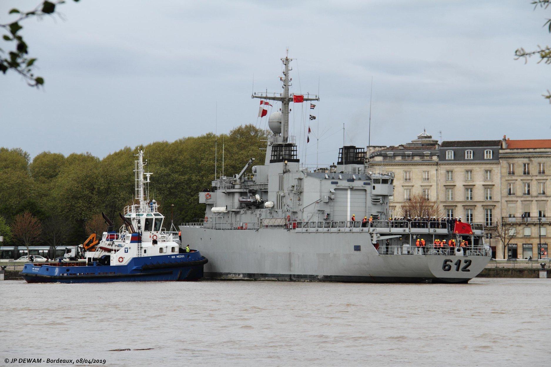 Royal Moroccan Navy Floréal Frigates / Frégates Floréal Marocaines - Page 14 47562657152_b144483234_o