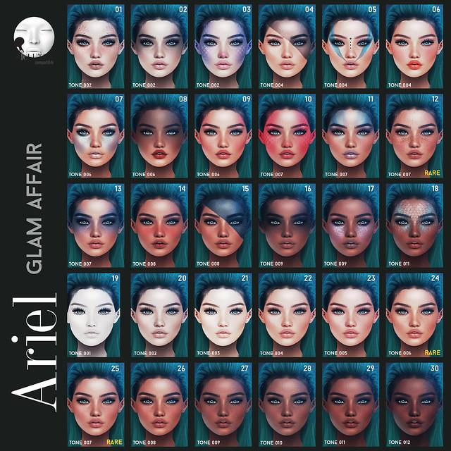 Glam Affair - Ariel Gacha for K9