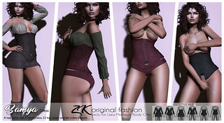 SAMYA DRESS@EXCLUSIVITY FOR BLACK FAIR | by -:zk:- STORE
