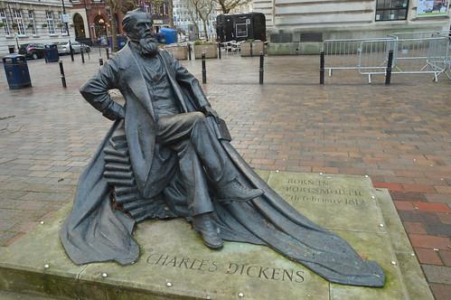 Charles Dickens Statue | by CoasterMadMatt