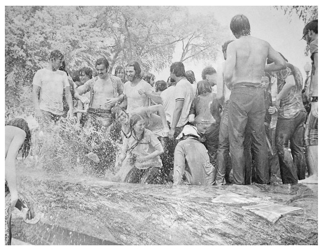 Protesters cooling off leads to clashes with police: 1970