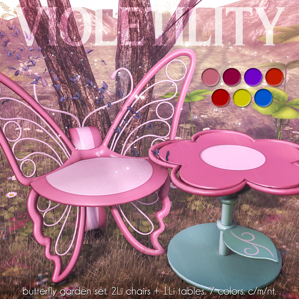 Violetility – Butterfly Garden Set