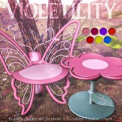 Violetility - Butterfly Garden Set