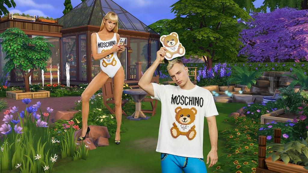 The Sims Anuncia uma Colaboração com Grife Italiana Moschino