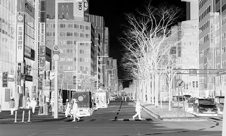 Looking South from JR Sapporo Station, variant | by sjrankin