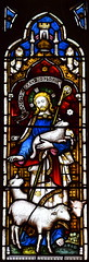 Christ the Good Shepherd (Clayton & Bell, 1861)
