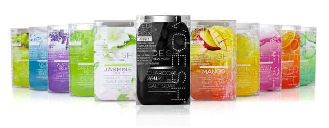 productos de Beauty Spa in a Box son de un único uso