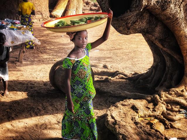 Niña de Benín