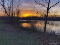 Veterans Park sunset 4/12/19