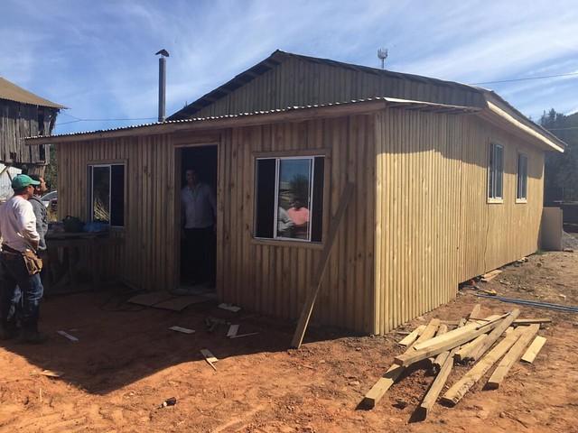 """Dando por gracia lo que por gracia hemos recibido"" Construcción hogar hermano  Francen de Haití"