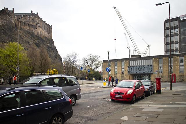 Post Box, Castle Terrace, Edinburgh
