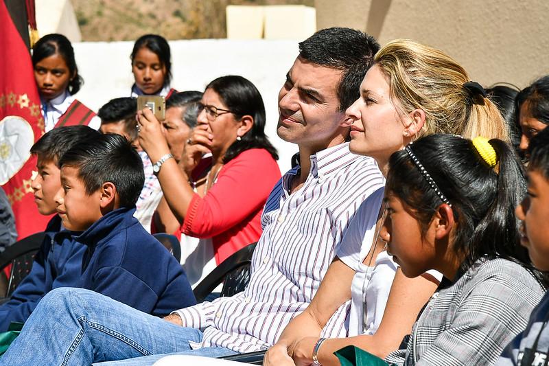 Inauguración del Nuevo Edificio Colegio Secundario Rural N°5215 - Luracatao