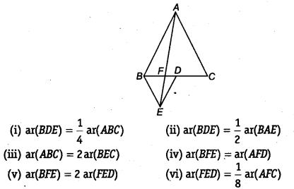 NCERT Solutions for Class 9 Maths Areas of Parallelograms and Triangles Ex 9.4 Q5