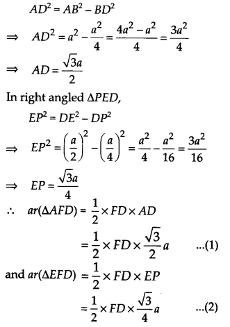 NCERT Solutions for Class 9 Maths Chapter 9 Areas of Parallelograms and Triangles Ex 9.4 A5A