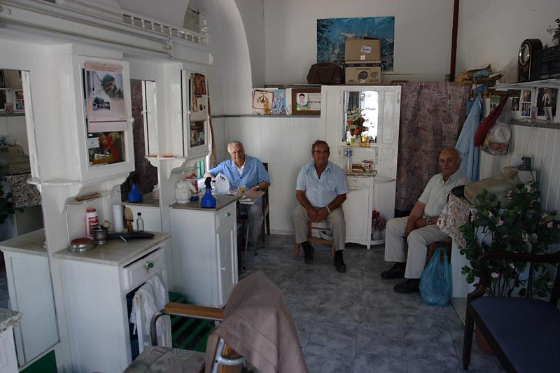 Barber shop, Hania, Crete