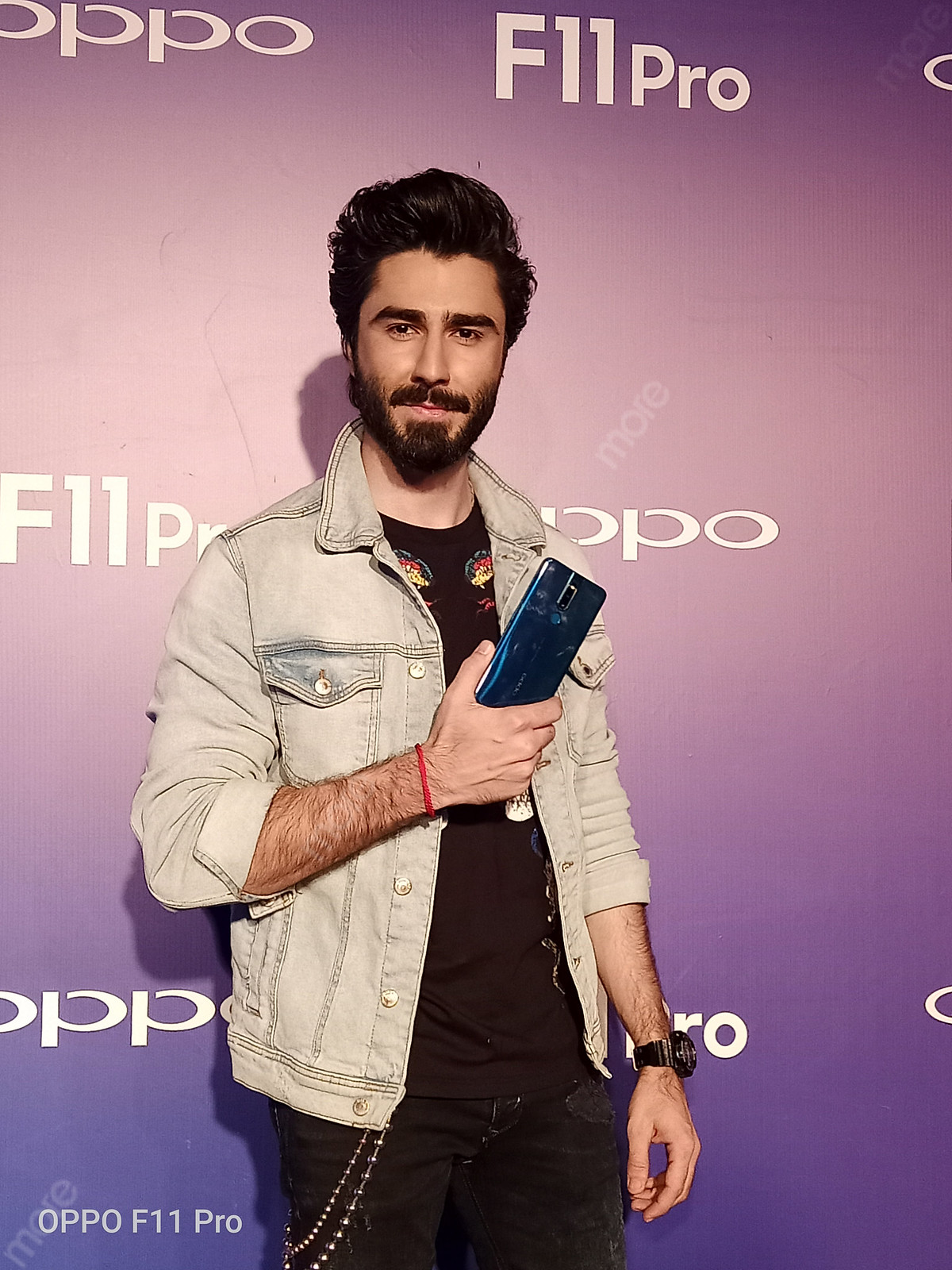 Nabeel Zubarie at the Launch Event of oppo F11 Pro