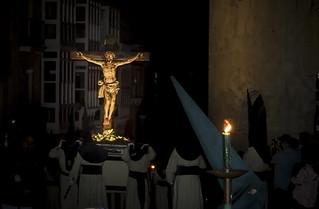 El Cristo de la Agonía. Hermandad Penitencial de la Siete Palabras. Zamora.