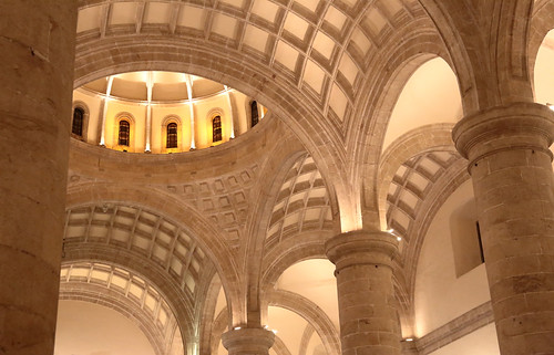 The Vaulted Ceiling Of San Ildefonso