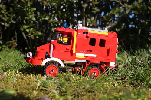 Unimog Mercedes-Benz Fire truck MOC. | by jesper.rydhog