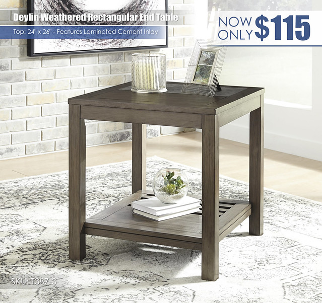 Deylin Weathered End Table_T387-3
