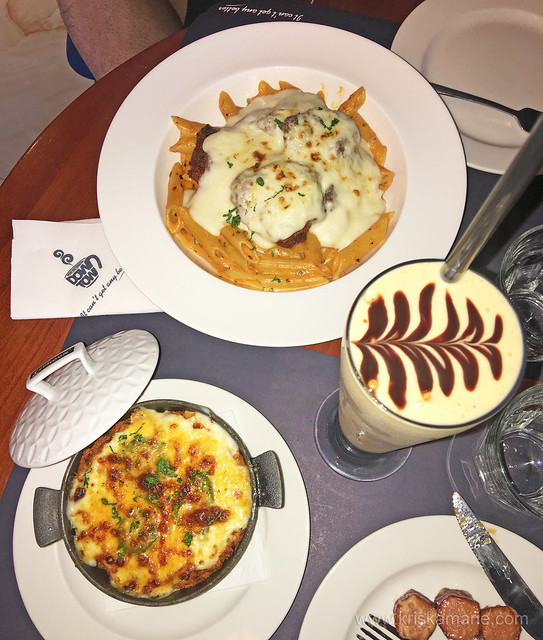 Downtown Cafe food