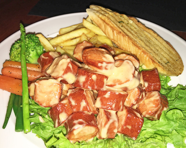 Chicken Sausage Platter from Downtown Cafe