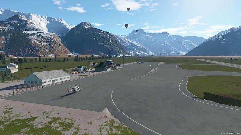 Mount Cook airport -Nueva Zelanda