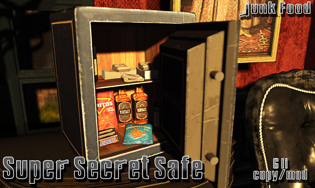 Junk Food – Super Secret Safe Ad