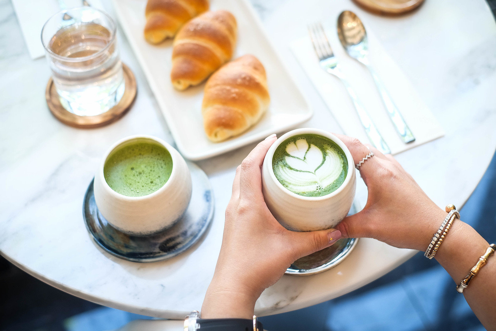 Matcha Latte by Hinoki