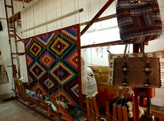 Albania kilim. Patern Sofra, specific color and meining